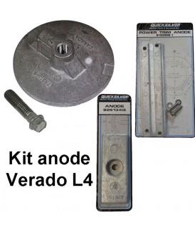 Kit anode Verado L4 (4cyl.)