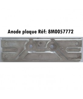 Anode plaque